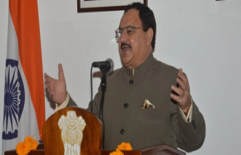 Shri J.P. Nadda, Union Minister for Health & Family Welfare addresses the Indian Community on Republic Day 2016