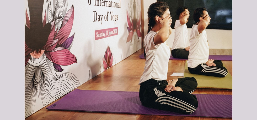 Celebration of 6th International Day of Yoga at Bali, Indonesia, 15 - 21 June 2020