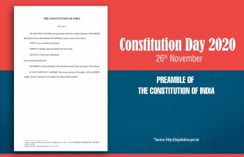Preamble of the Constitution of India