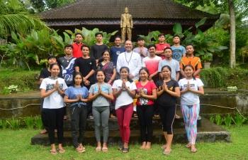 Workshop Ashram Gandhi Puri Klungkung