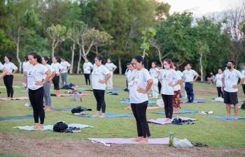 International Day of Yoga 2021.