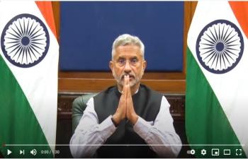 हिन्दी दिवस के अवसर पर भारत के विदेश मंत्री डॉ. सुब्रह्मण्यम जयशंकर का संदेश